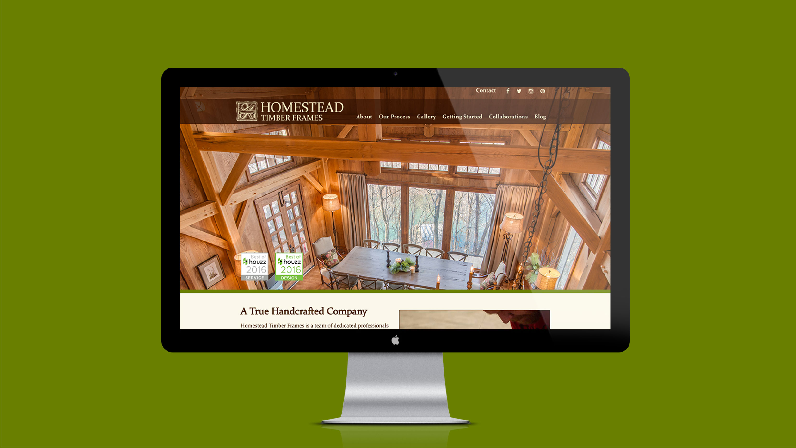 Homestead Timber frames