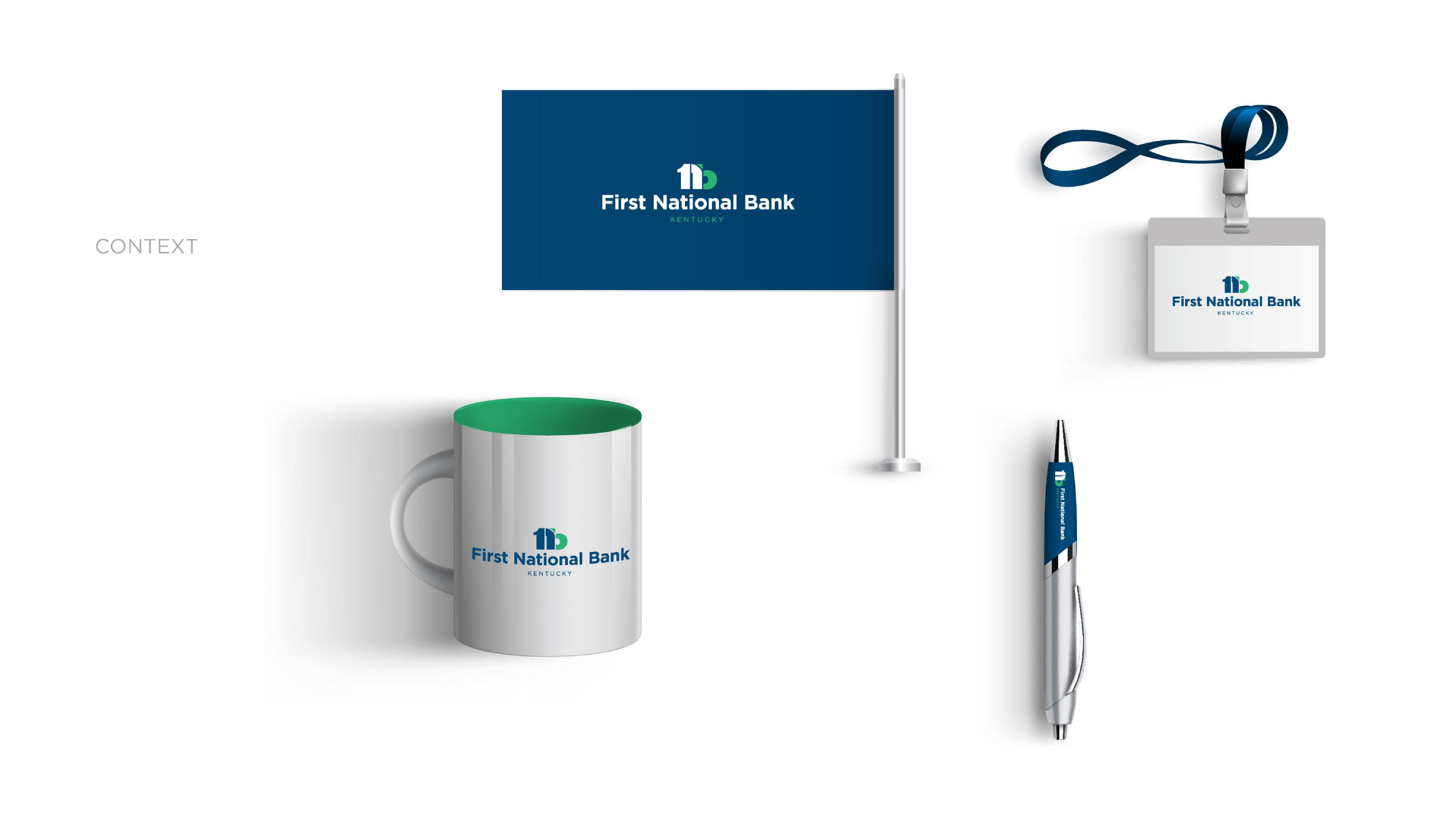 First national bank branding