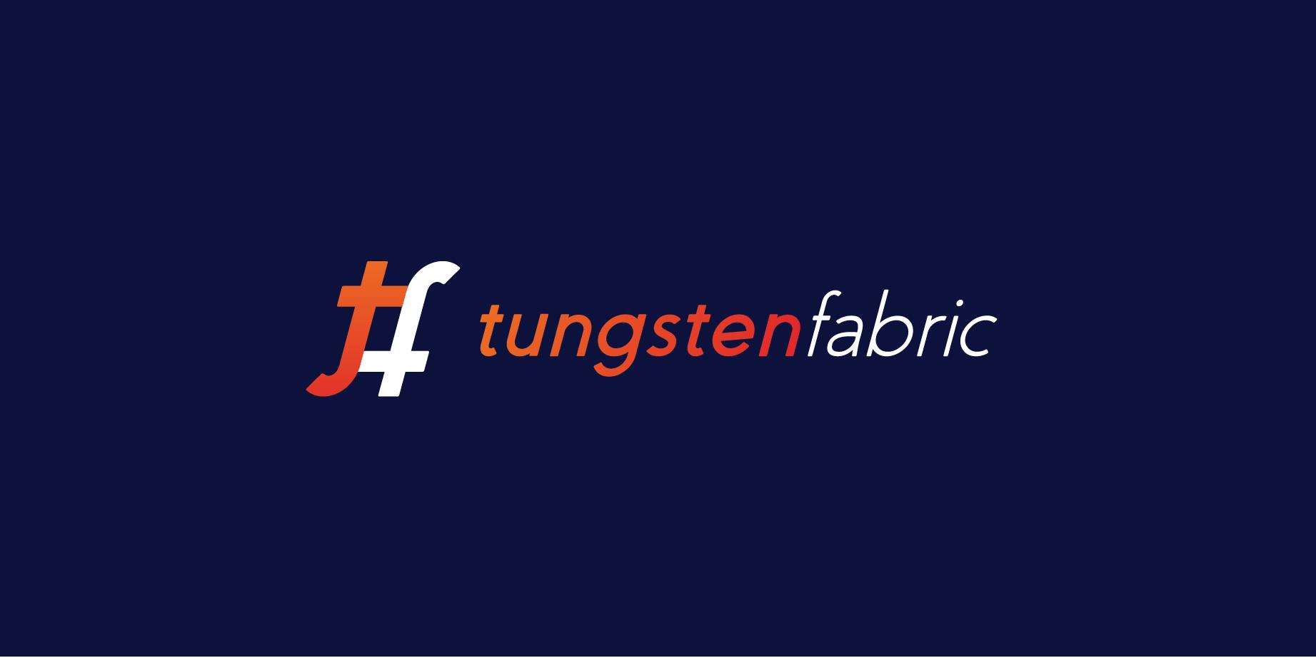 Tungsten Fabric Long Logo